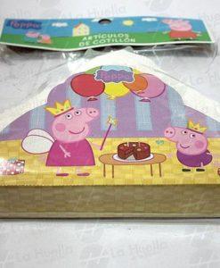 Peppa pig pi ata de carton la huella cotill n for Espectaculo peppa pig uruguay