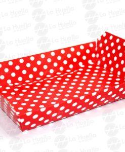 bandeja-lunares-carton-reforzada-roja