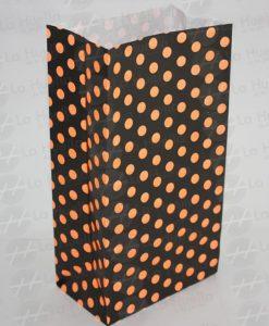 bolsa-papel-lunares-fondo-negro-lunares-anaranjados