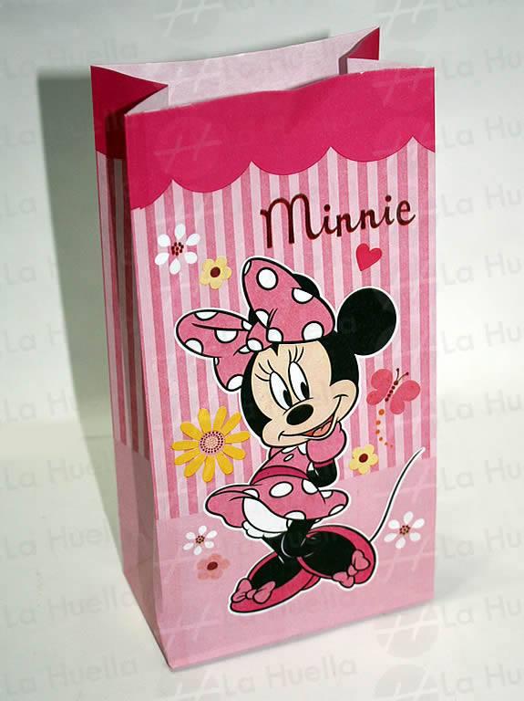 d3b31e953 Bolsa de papel de Minnie – La Huella Cotillón, Concepción del ...