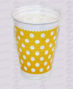 vaso-amarillo-lunares-blancos