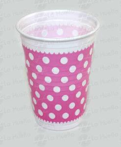 vaso-rosado-lunares-blancos