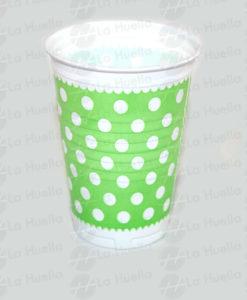 vaso-verde-lunares-blancos