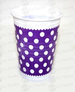 vaso-violeta-lunares-blancos