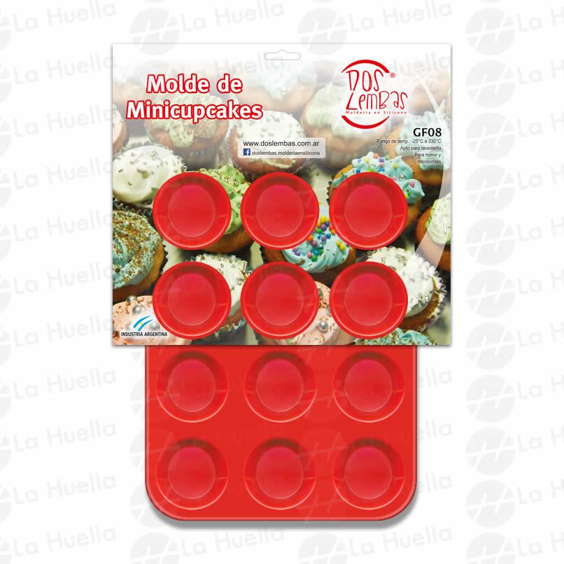 Molde mini cupcake de silicona la huella cotill n concepci n del uruguay entre r os - Moldes cupcakes silicona ...