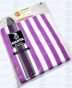 servilletas-rayas-violeta-blanca