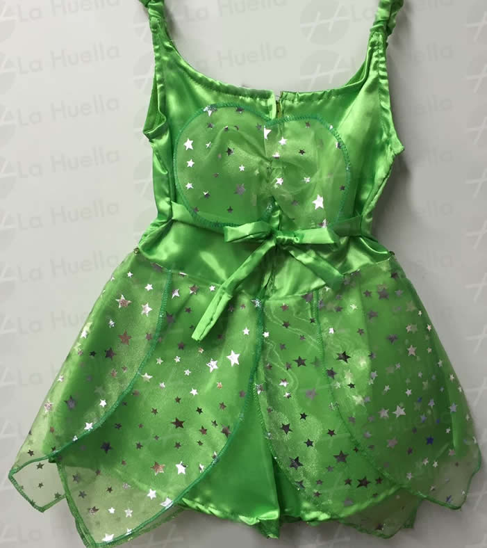 Disfraz de Tinker Bell ( Campanita ) – La Huella Cotillón ... bae7c9d7d98c