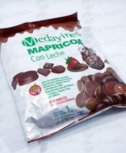 chocolate-mapricoa-con-leche--baño-reposteria-uso-directo-medallones