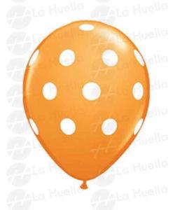 globo-anaranjado-lunares-blanco